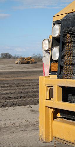 Gore Earthmoving Truck Front