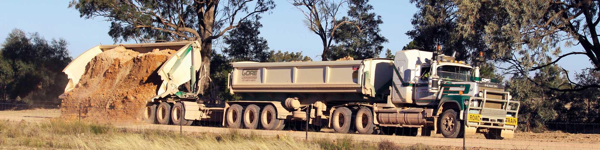 Gore Earthmoving Truck
